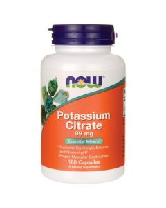 Now Potassium Citrate 99 mg 180 caps