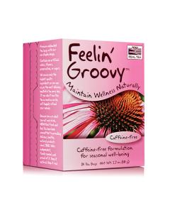 Now Real Tea Feelin' Groovy Caffeine free 24 bags