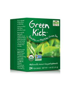 Now Real Tea Green Kick 24 bags