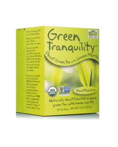Now Real Tea Green Tranquility Caffeine free 24 bags