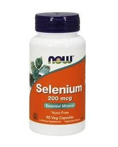 Now Selenium 200 mcg Yeast Free Vegetarian 90 vcaps