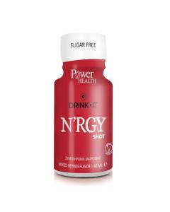 Power Health Drink it N'RGY shot berries flavor 60 ml