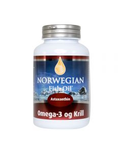 Norwegian Fish Oil Omega 3 Krill astaxanthin 60 softgels