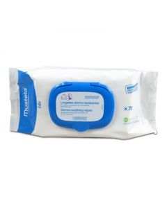 Mustela Diaper Change Dermo-Soothing Wipes Delicately Fragranced 70 pcs