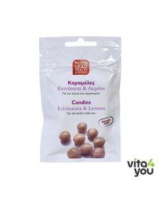 NutraLead Καραμέλες με Εχινάκεια & Λεμόνι 40 gr