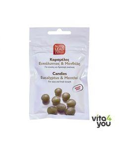 NutraLead Καραμέλες με Ευκάλυπτο & Μενθόλη 40 gr