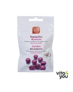 NutraLead Καραμέλες Φράουλα 40 gr