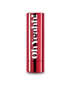Oh Yeahh Happy Lip Balm Red SPF 15 4.2 gr