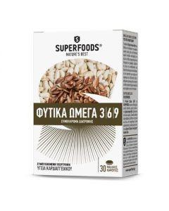 Superfoods Herbal Omega 3-6-9 30 softgels