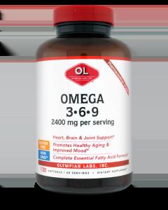 Olympian Labs Omega 3-6-9 2400 mg 120 softgels