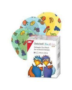 3M Opticlude Boys & Girls Mini 20 eye patches 5 x 6.2 cm