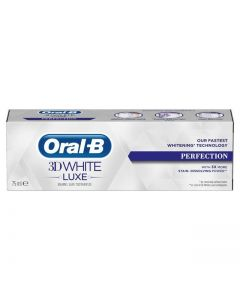 Oral-B 3D White Luxe Perfection Toothpaste 75 ml