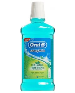 Oral-B Mouthwash Complete 500 ml