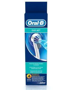 Oral-B Ανταλλακτικά ακροφύσια για το Σύστημα Καταιονισμού Oxyjet 4 τμχ