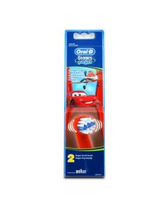 Oral-B Stages Power McQueen Cars Toothbrush replacement heads 2 pcs