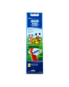 Oral-B Stages Power Mickey Mouse Toothbrush replacement heads 2 pcs