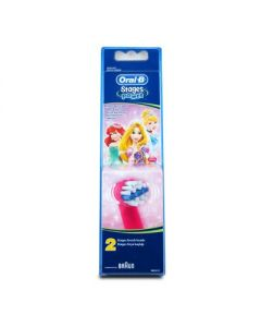 Oral-B Stages Power Princesses Toothbrush replacement heads 2 pcs