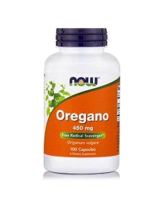 Now Oregano 450 mg 100 veg caps