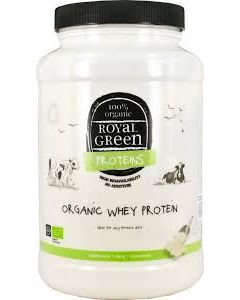 Royal Green Whey Protein Isolate Organic 600 gr
