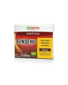 Ortis Energy Ginseng 10 amp x 15 ml
