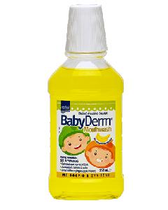 Intermed Babyderm Mouthwash 250 ml