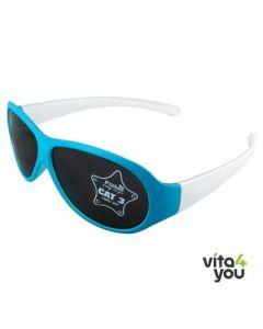 P'titboo Kids Sunglasses White/Blue age 4-6