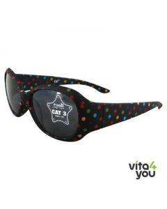 P'titboo Kids Sunglasses Black dot age 6-12