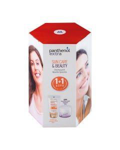 Panthenol Extra Sun Care Diaphanous SPF30 50 ml & Face and Eye Cream 50 ml
