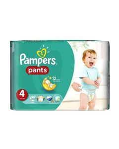 Pampers Pants Maxi no4 (9-14 kg) 30 nappies
