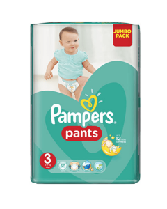 Pampers Pants Midi no3 (6-11 kg) 60 nappies