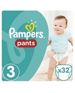 Pampers Pants Midi no3 (6-11 kg) 32 nappies