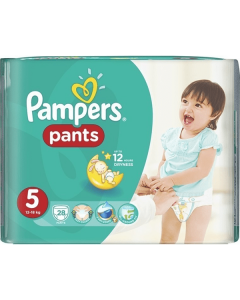 Pampers Pants Junior no5 (12-18 kg) 28 nappies