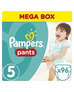Pampers Pants Junior no5 (12-18 kg) 96 nappies