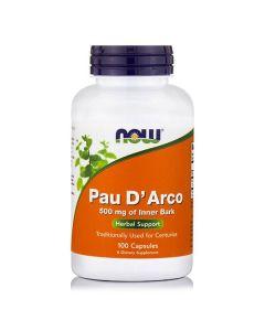 Now Pau D' Arco 500 mg 100 caps
