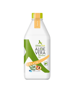 Litinas Aloe Vera Drinking Gel Peach 1000 ml