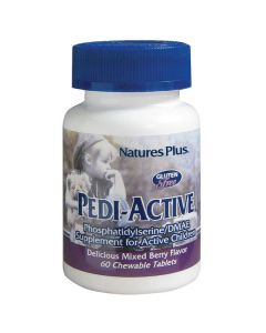 Nature's Plus Pedi-Active Phosphatidylserine/DMAE 60 chewable tabs berry blavor
