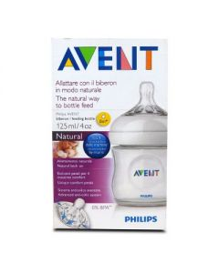 Avent Natural Baby bottle feeding 125 ml