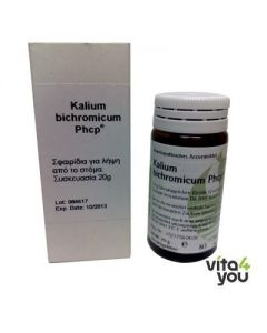 Phonix Kalium Bichronicum Phcp tabs 20 gr