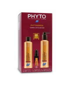 Phyto Phytodensia Plumping shampoo 50 ml & Plumping Serum 10 ml & Phytodensia Fluid Plumping mask 50 ml