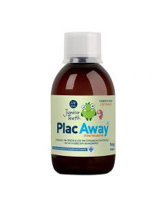 Plac Away Junior Teeth Mouthwash 6+ years orange flavour 250 ml