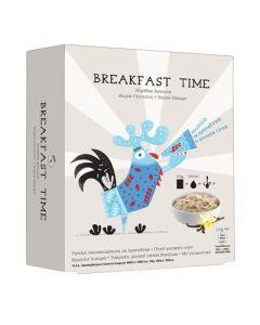 Power Health Breakfast time νιφάδες βρώμης χωρίς γλουτένη βανίλια 5 x 25 gr