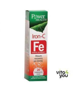 Power Health Iron & C 20 eff tabs
