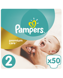 Pampers Premium Care Mini no2 (3-6 kg) 50 nappies