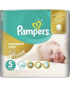 Pampers Premium Care Junior no5 (11-18 kg) 30 nappies