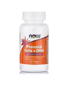 Now Prenatal Gels DHA 90 softgels