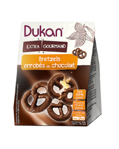 Dukan Chocolate Coated Pretzels 100 gr