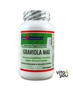Pro V Nutraceutical Graviola Max 90 tabs