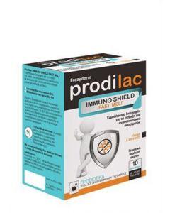 Frezyderm Prodilac Immuno Shield Fast Melt 10 sachets peach flavour