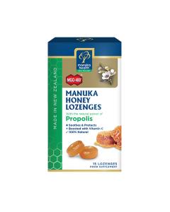 Manuka Health Καραμέλες με μέλι Manuka 400+ & Πρόπολη 21 τμχ