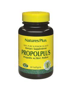 Nature's Plus Propolplus Propolis w/Bee Pollen 60 softgels